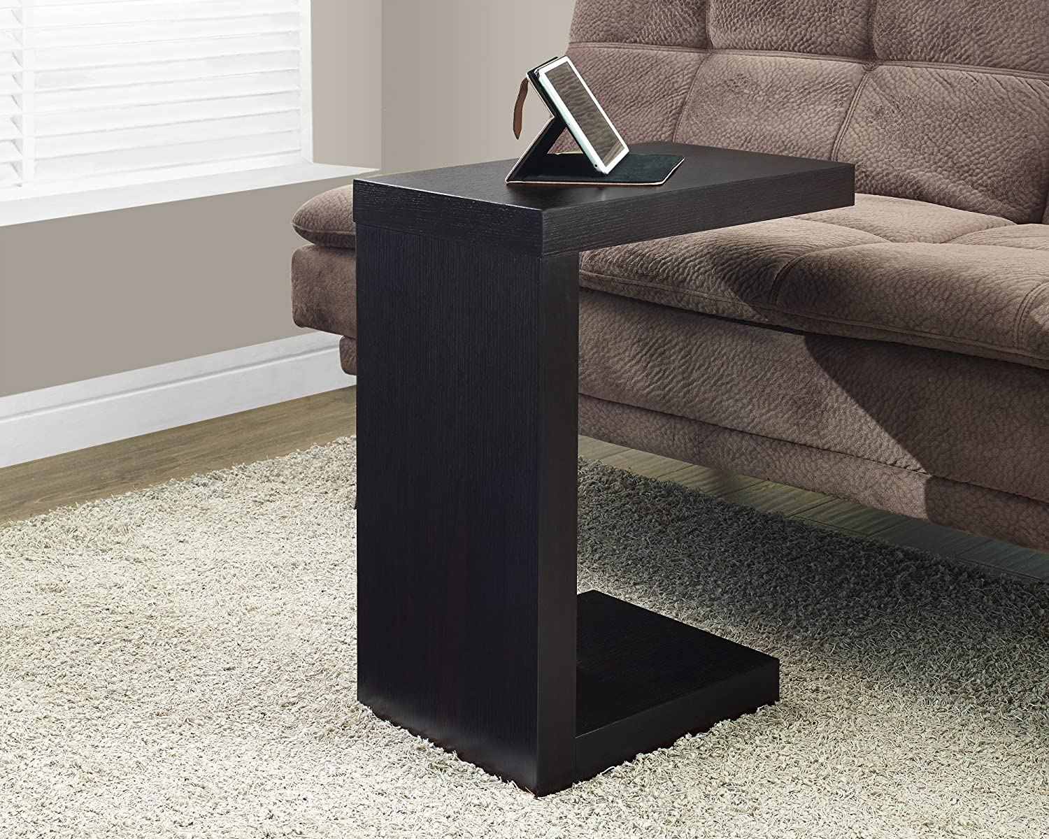 Monarch Specialties Cappuccino Hollow-Core Accent Table