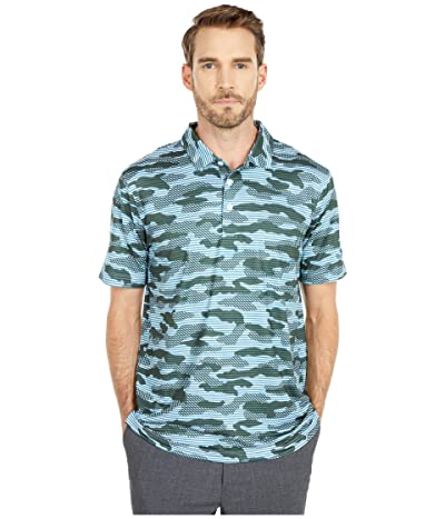 PUMA Golf Cloudspun Camo Polo (Digi-Blue) Men