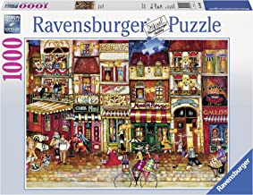 Ravensburger Streets of France Puzzle 1000pc,Adult Puzzles