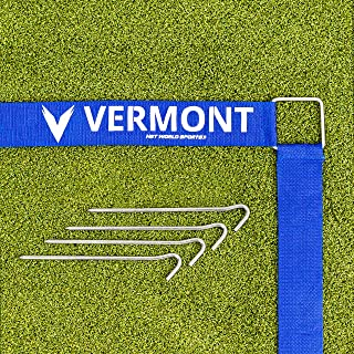 Vermont Volleyball Court Line Marking Kit | Creates a Regulation Size 60ft x 30ft Court | Ultra-Durable Polyester Construction