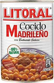 LITORAL Cocido Madrileño, Plato Preparado Sin Gluten - 400