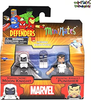 Marvel Minimates Series 75 Marvel Now! Moon Knight & Frontal Assault Punisher 2-Pack