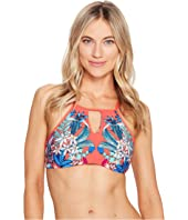 Kenneth Cole - Tropical Tendencies High Neck Bra Top