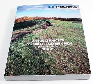 New Oem 2011 2012 Polaris Ranger 400 500 & Crew Service Shop Manual 9923511