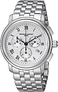 Frederique Constant Men's FC292MC4P6B2 Classics Analog Display Swiss Quartz Silver Watch
