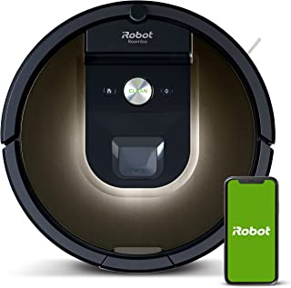 iRobot Roomba 981 Robot Vacuum-Wi-Fi Connected Mapping, Works with Alexa, Ideal for Pet Hair, Carpets, Hard Floors, Power ...