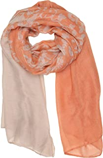 Sakkas Nichole summer gauze featherweight patterned versitile sheer scarf wrap