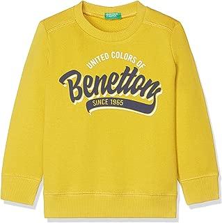 United Colors of Benetton Erkek Çocuk Benetton Yazılı Sweatshirt 3J68C14A9