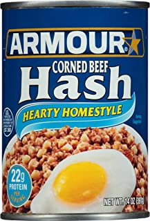 Armour Hearty Homestyle Corned Beef Hash, 14 Ounce