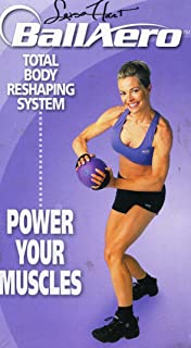 Leisa Hart BallAero Total Body Reshaping System POWER YOUR MUSCLES