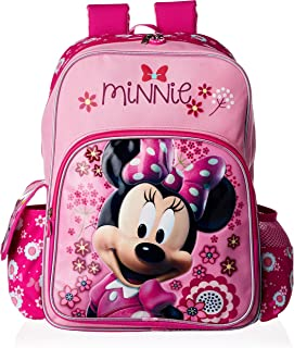 Disney Minnie Mouse Blossoms & Bow School Bag, Pink