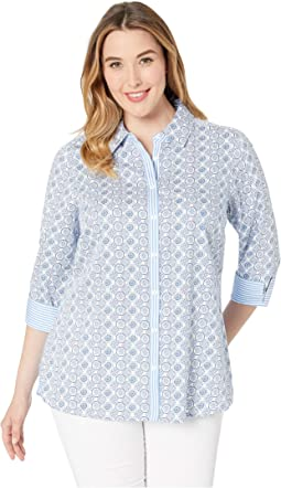 Plus Germaine Tile Medallion Tunic