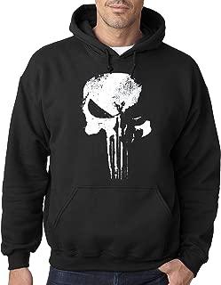 New Way 687 - Hoodie New Daredevil Punisher Skull Logo Unisex Pullover Sweatshirt