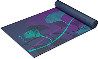 Gaiam Yoga Mat - Premium 6mm Print Extra Thick Non Slip Exercise & Fitness Mat for All Types of Yoga, Pilates & Floor Work...