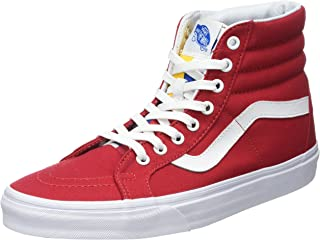 Vans Unisex Adults' Sk8-hi Reissue Leather Trainers
