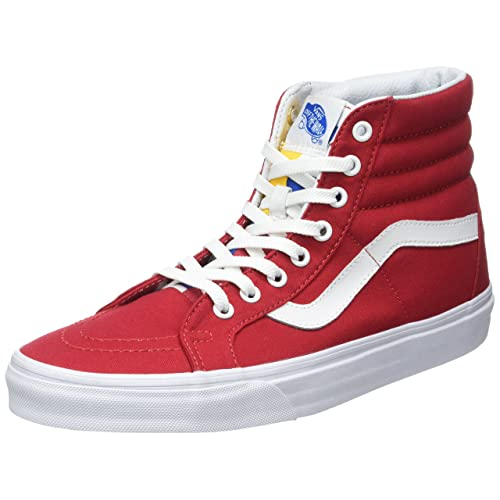 0578a2393f2 Vans Unisex Adults  Sk8-hi Reissue Leather Trainers