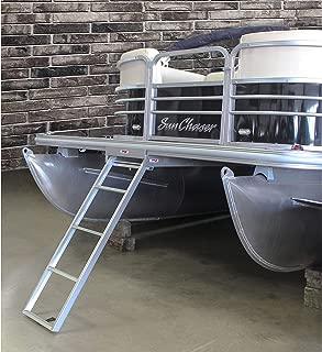 Extreme Max 3005.3434 Undermount Pontoon Ladder - 4-Step