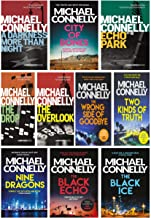 Michael Connelly Harry Bosch Series 10 Books Collection Set (Two Kinds of Truth, The Drop, Nine Dragons, The Overlook, Echo Park, City of Bones...)