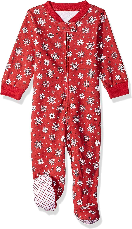 Essentials Baby and Toddler Zip-Front Footed Sleeper B/éb/é gar/çon