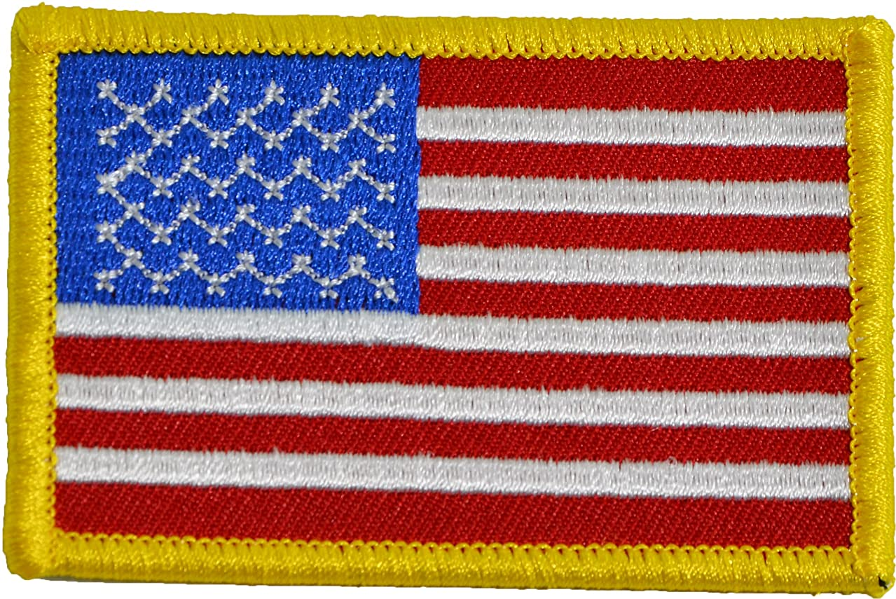 Tactical USA Flag Patch Red White Blue 2