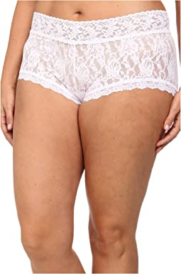 Hanky Panky - Plus Size Signature Lace Solid New Boyshort