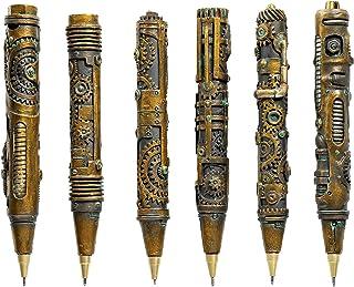 Design Toscano Industrial Steampunk Sculptural Ink Transport Pens