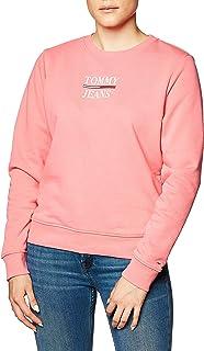 Tommy Jeans Tjw Slim Terry Logo Sweatshirt Maglia di Tuta Donna