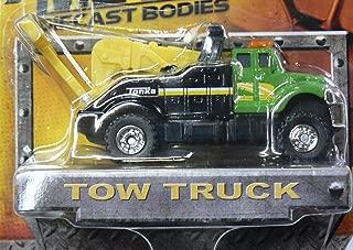 Tonka Metal Diecast Bodies - Tow Truck - Green/Black by Tonka
