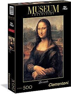 Clementoni Puzzle Monalisa Great Museum 500 Pieces, multicolor, 303632