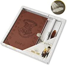 Harry Potter Secret Diary | Harry Potter Stationery With Lockable Journal Notebook And Invisible Ink Magic Pen | Fun Stationery Set | Harry Potter Gifts For Girls Or Boys