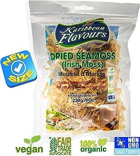 Premium Irish Moss Superfood 230g (8 Ounce) - Wildcrafted - Organic - Non GMO - Vegan - Raw