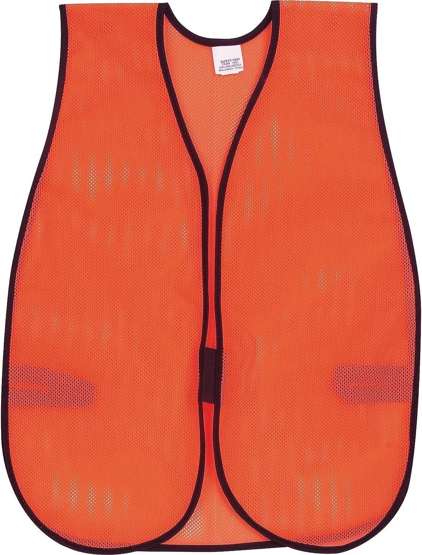 Great interest MCR Safety CRWV201 Crews Orange General-purpose Vest Max 42% OFF