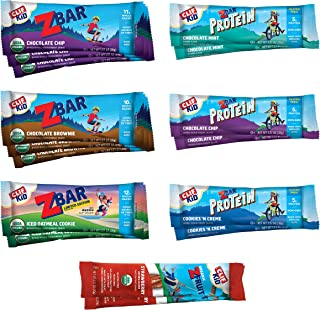 Clif Kid - Organic Granola Bars – Variety Pack - Gluten Free - Organic - Non-GMO - Lunch Box Snacks (1.27 Ounce Energy Bar...