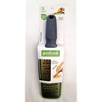 Coarse Grater with Green Cover Kitchen Tool By Good Cook Pro Comfort Grip Handle