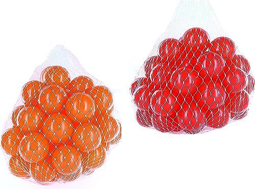 promociones Pelotas para pelotas baño variadas Mix con rojo y naranja naranja naranja Talla 1000 Stück  encuentra tu favorito aquí