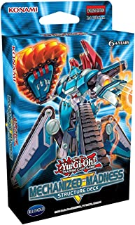 Yu-Gi-Oh! Trading Cards: Mechanized Madness Structure Deck- 42 Cards Total | 3 Super Rares, 2 Ultra Rares, 1 Double Sided ...