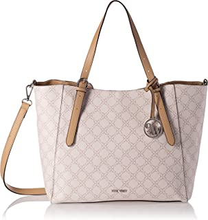 NINE WEST KYLEE TRAP TOTE, Fawn Logo, M