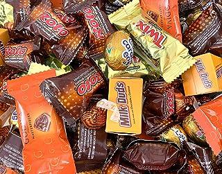 Hershey`s Gold Candy Assortment - Godiva, Cadbury Caramel Eggs, Milk Duds, Twix, Kisses Caramel and Rolo (3 Pound Bag)
