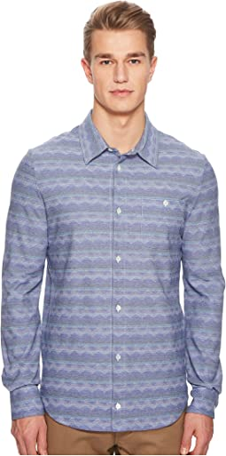 Missoni - Jersey Denim Zigzag Button Up Shirt