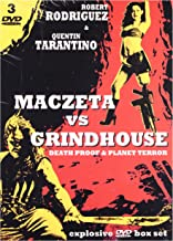 Exploitation: Maczeta / Grindhouse: Death Proof / Grindhouse 2: Planet Terror [3DVD] (No hay versión española)