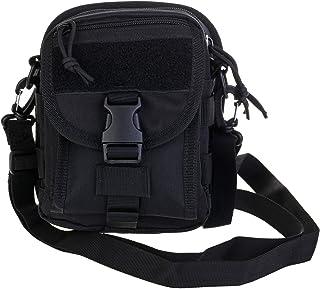 ABCAMO Nylon Waterproof Solid Color Outdoor One Shoulder Tactical Sport Bag