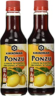 Kikkoman Ponzu Sauce, Bottle, 10 oz, 2 pk