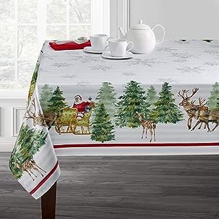 Benson Mills Printed Christmas Tablecloth (60
