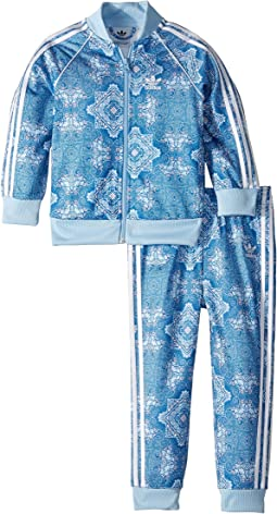 Clear Sky Superstar Tracksuit (Infant/Toddler)