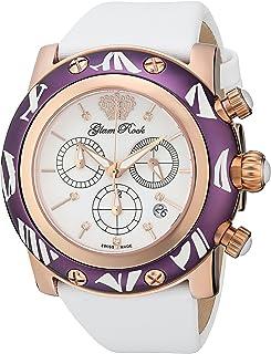 Glam Rock - GR10516 Smalto Collection Diamond Chronograph White Techno Reloj para Mujer