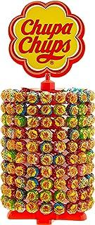 Chupa Chups 180er Lutscherrad plus 20 Lollis gratis | Lollipop-Ständer mit 7 leckeren Geschmacksrichtungen, 200 x 12 g