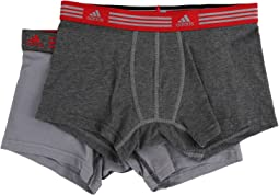 adidas - Athletic Stretch 2-Pack Trunk