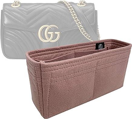 4b63c3a837 Zoomoni Gucci GG Marmont Small Matelasse Shoulder Bag Insert Organizer - Premium  Felt (Handmade/