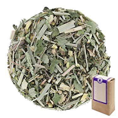 """Núm. 1304: Té de hierbas orgánico """"La armonía del bienestar"""" - hojas sueltas ecológico - 250 g - GAIWAN® GERMANY - raíz de regaliz, menta, limoncillo, bálsamo de limón, jengibre"""