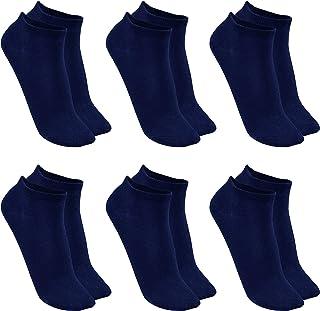 Calcetines de Deporte Mujer Calcetines Corto Tobilleros (6 pares)